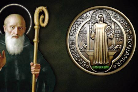 San Benito de Nursia, patrono de Europa y patriarca del Monacato occidental