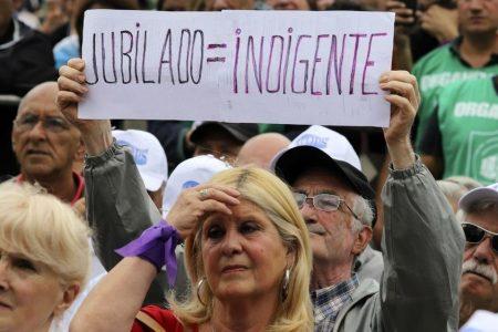 El genocidio jubilatorio argentino en marcha