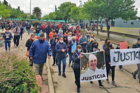 Una gran movilización por el asesinato del Cura Párroco en la ciudad de Córdoba