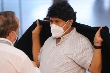 Evo Morales da positivo a covid-19